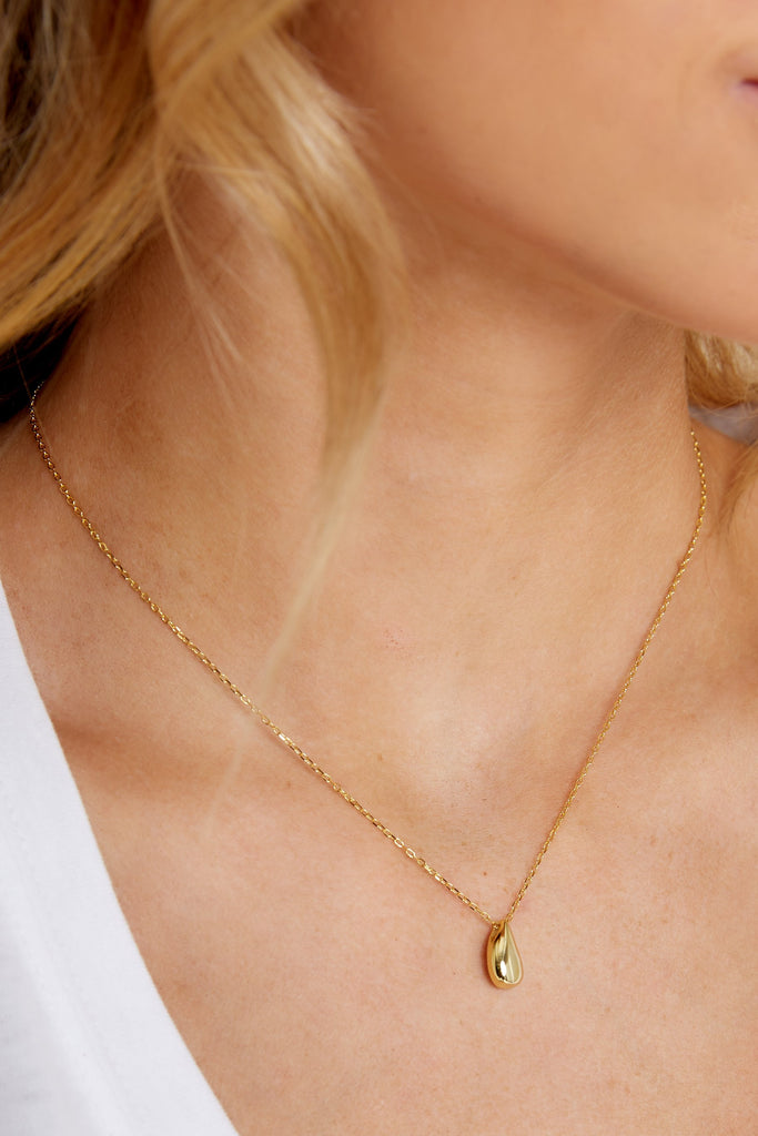 Passion Gold Charm Necklace