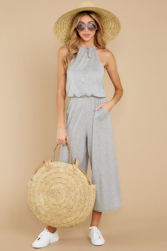 2 Prima Donna Dark Charcoal Jumpsuit at reddressboutique.com