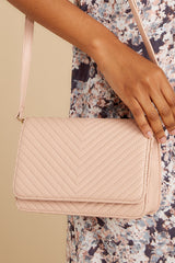 2 Totally Chic Nude Purse at reddressboutique.com