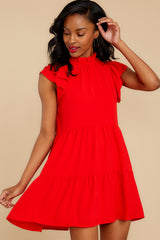 7 You're Everything Red Dress at reddressboutique.com