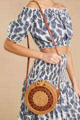 1 Worry Less Round Bag at reddressoutique.com
