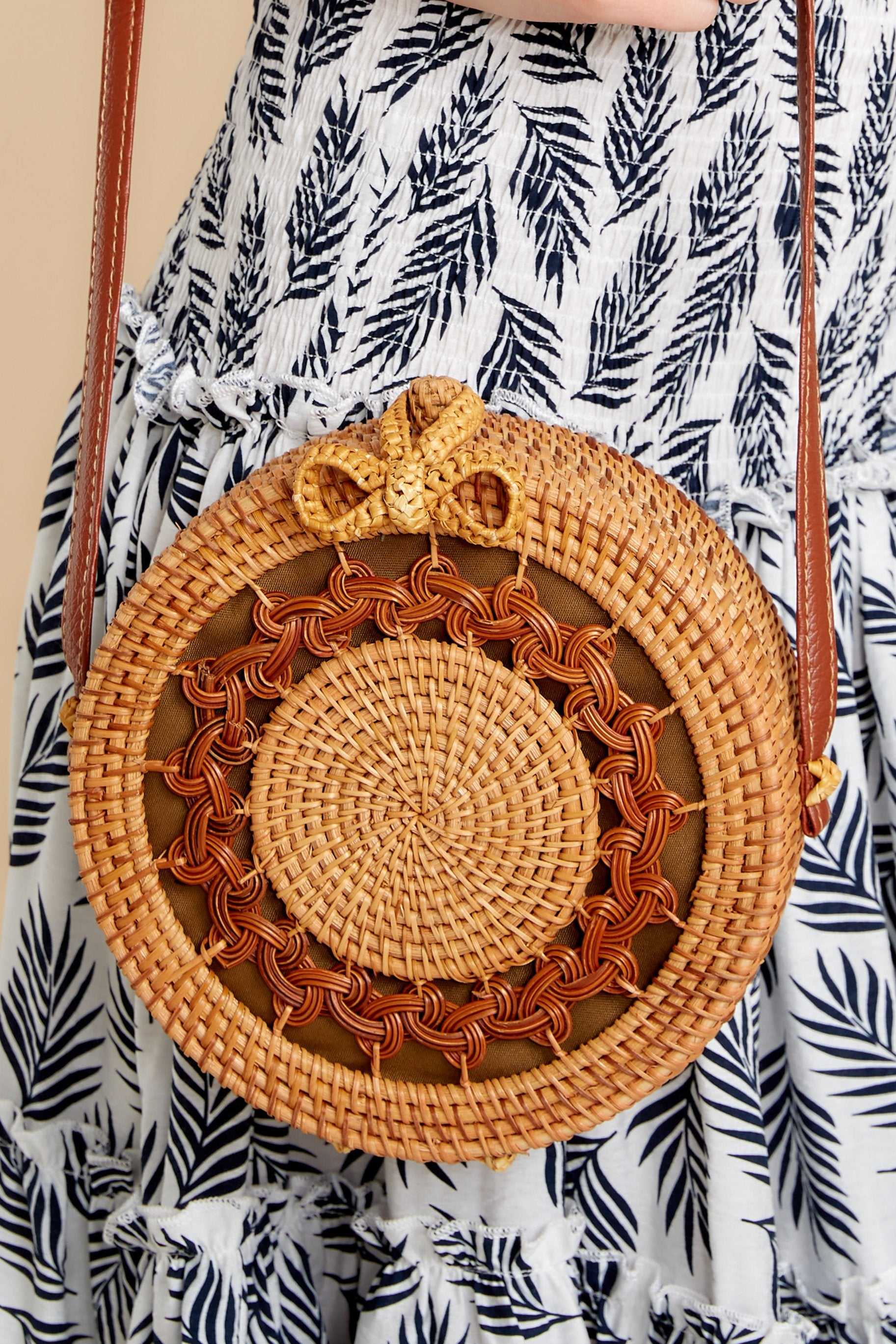 2 Worry Less Round Bag at reddressoutique.com
