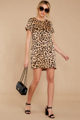3 Party For Two Leopard Print Dress at reddressboutique.com