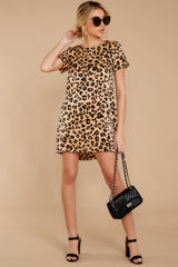 4 Party For Two Leopard Print Dress at reddressboutique.com