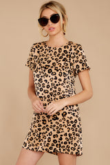 5 Party For Two Leopard Print Dress at reddressboutique.com