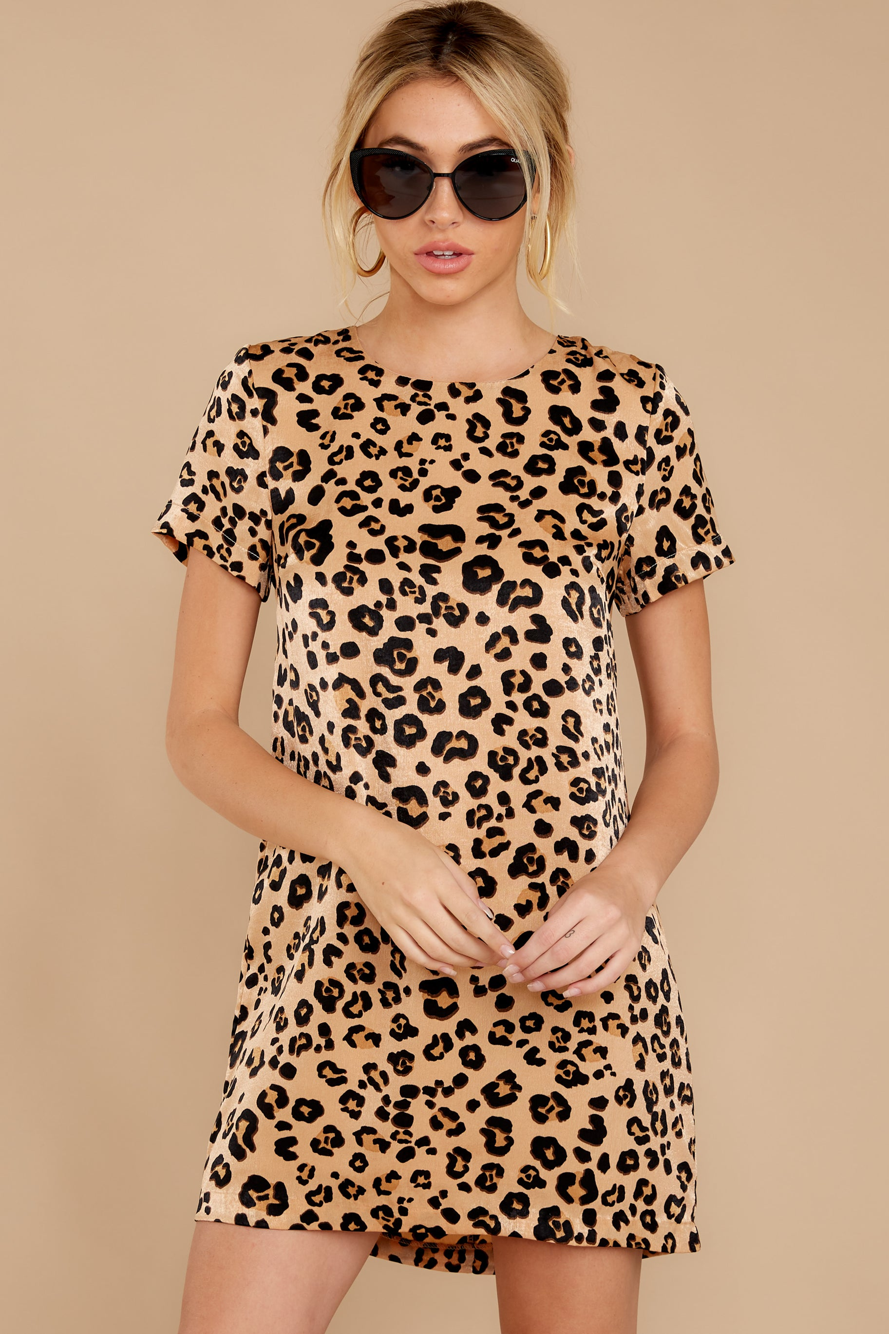 7 Party For Two Leopard Print Dress at reddressboutique.com