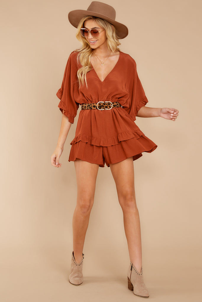 2 Every Time I Think About You Black Romper at reddressboutique.com