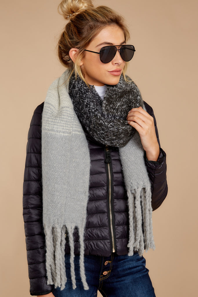 1 Wrapped In Warmth Tan Multi Scarf at reddress.com