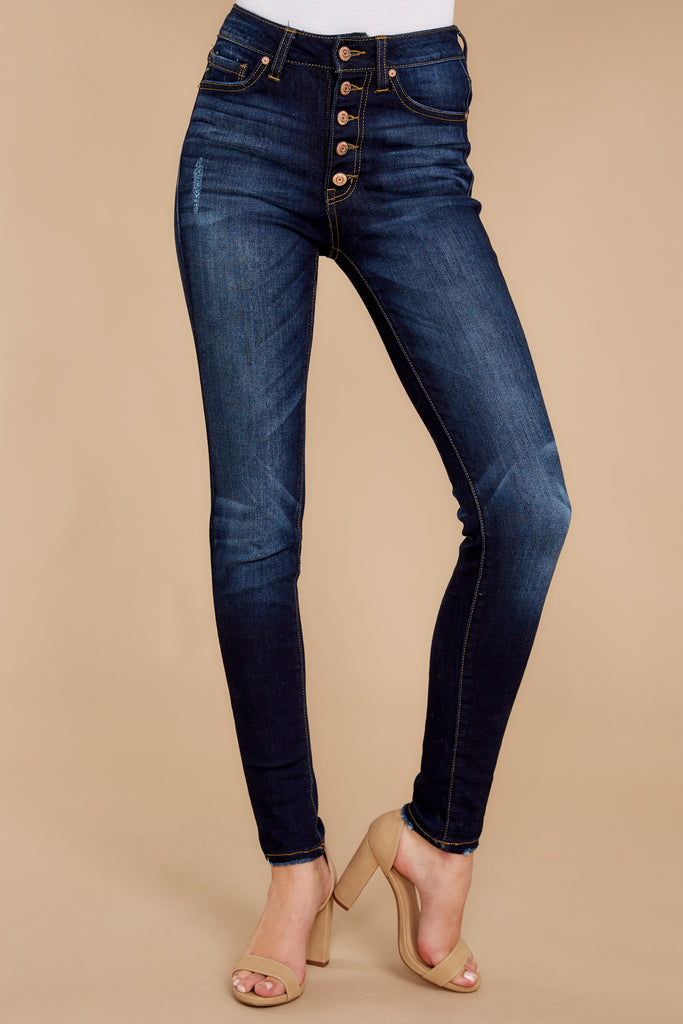 1 721 High Rise Skinny Jeans In Bogota Feels at reddress.com