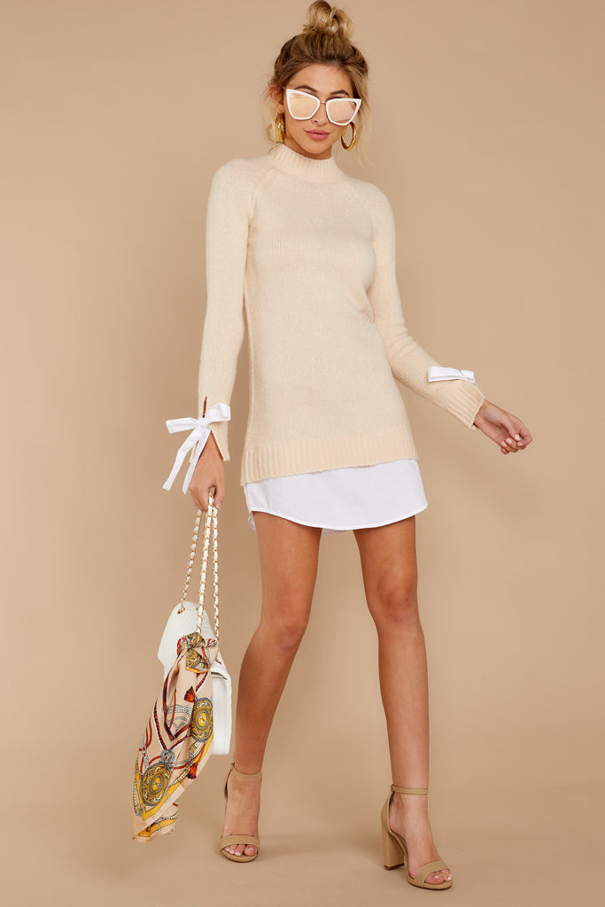 1 Polished And Poised White Bag at reddress.com