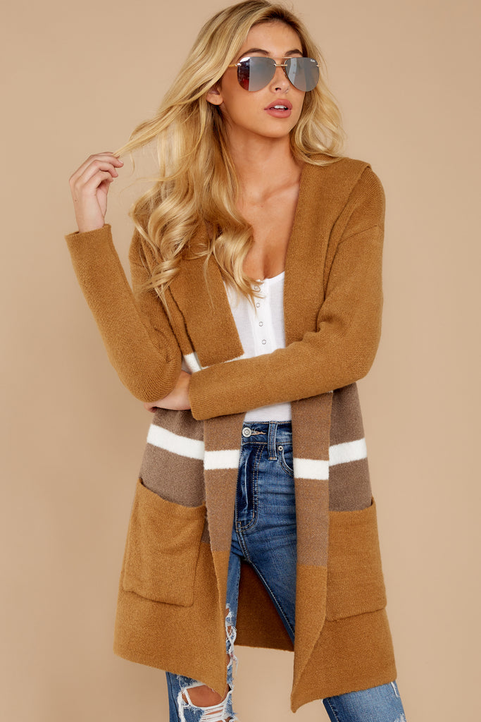 falling-for-adventure-tan-multi-stripe-cardigan by fable
