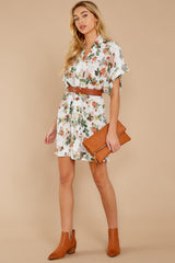 2 I Got You Ivory Floral Print Dress at reddressboutique.com
