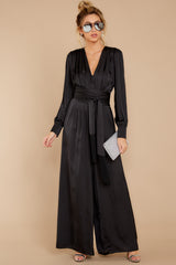 2 It's A Lifestyle Black Jumpsuit at reddressboutique.com