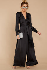 3 It's A Lifestyle Black Jumpsuit at reddressboutique.com