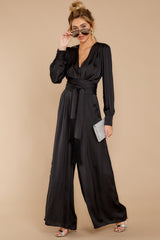4 It's A Lifestyle Black Jumpsuit at reddressboutique.com