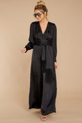 7 It's A Lifestyle Black Jumpsuit at reddressboutique.com