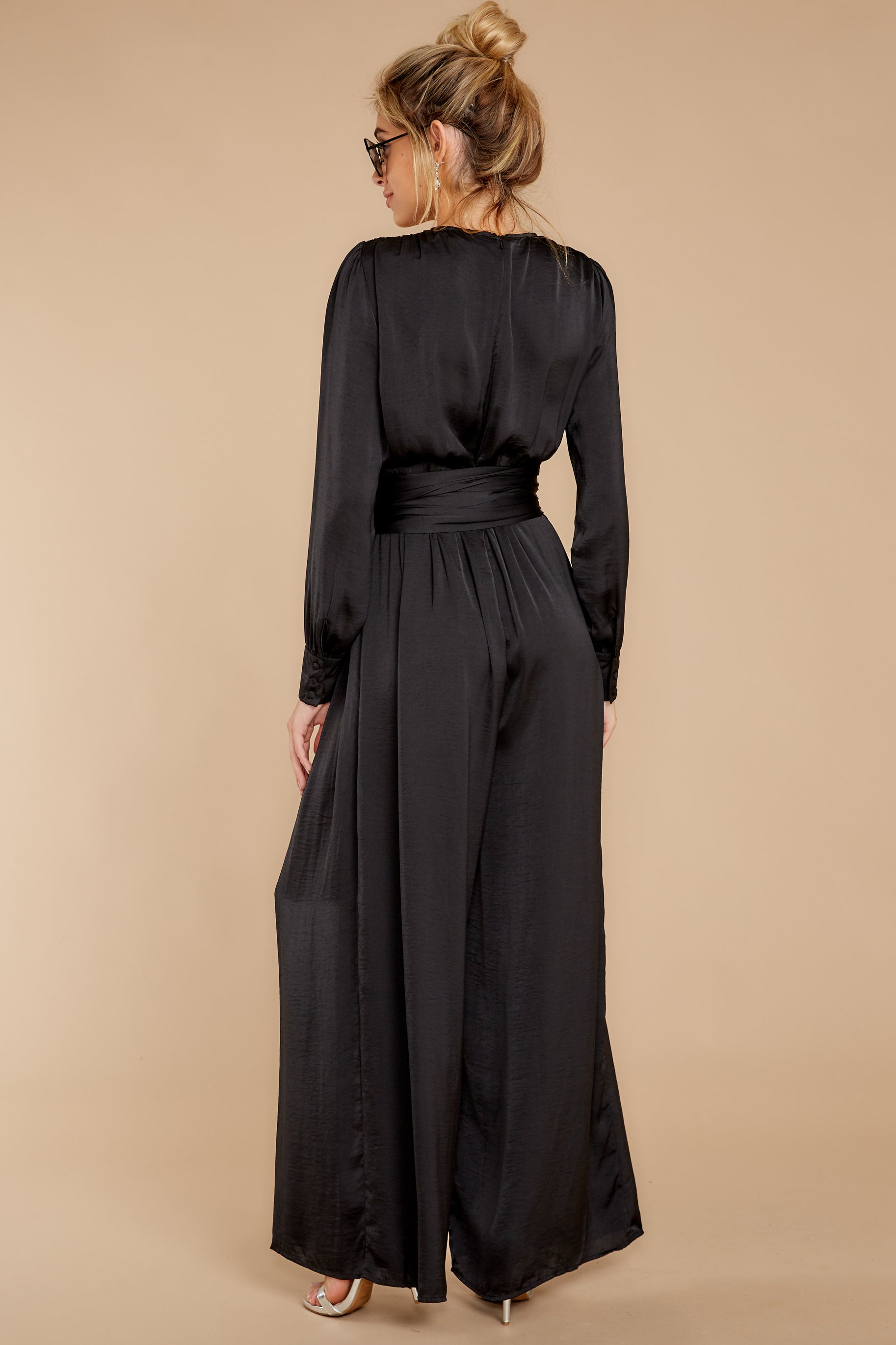 8 It's A Lifestyle Black Jumpsuit at reddressboutique.com
