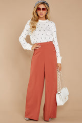 4 Chic Street Clay Pants at reddressboutique.com