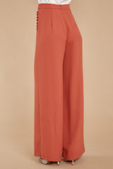 3 Chic Street Clay Pants at reddressboutique.com