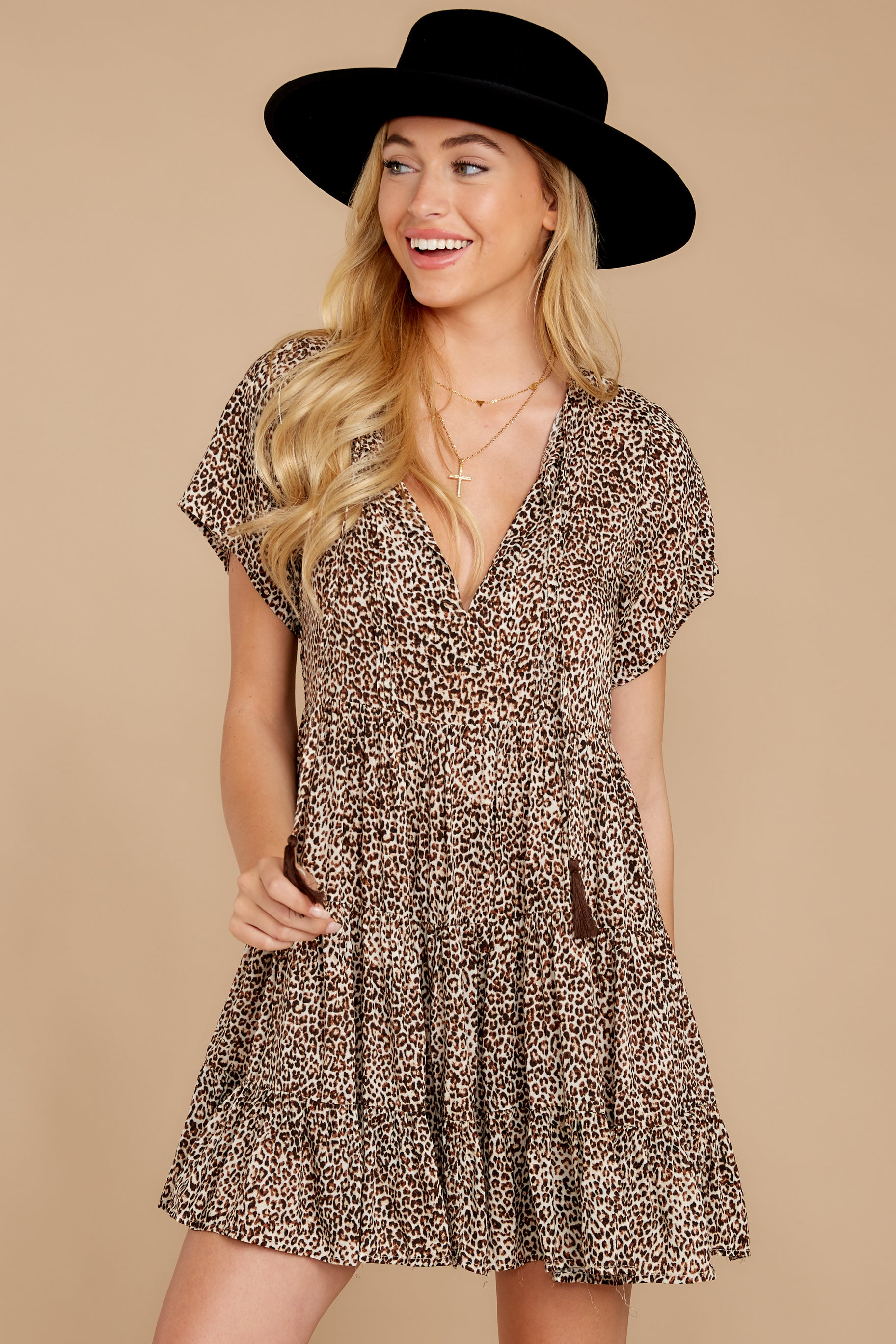 Wild Occasion Leopard Print Dress