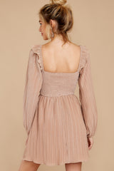 9 Every Single Night Rose Gold Dress at reddressboutique.com