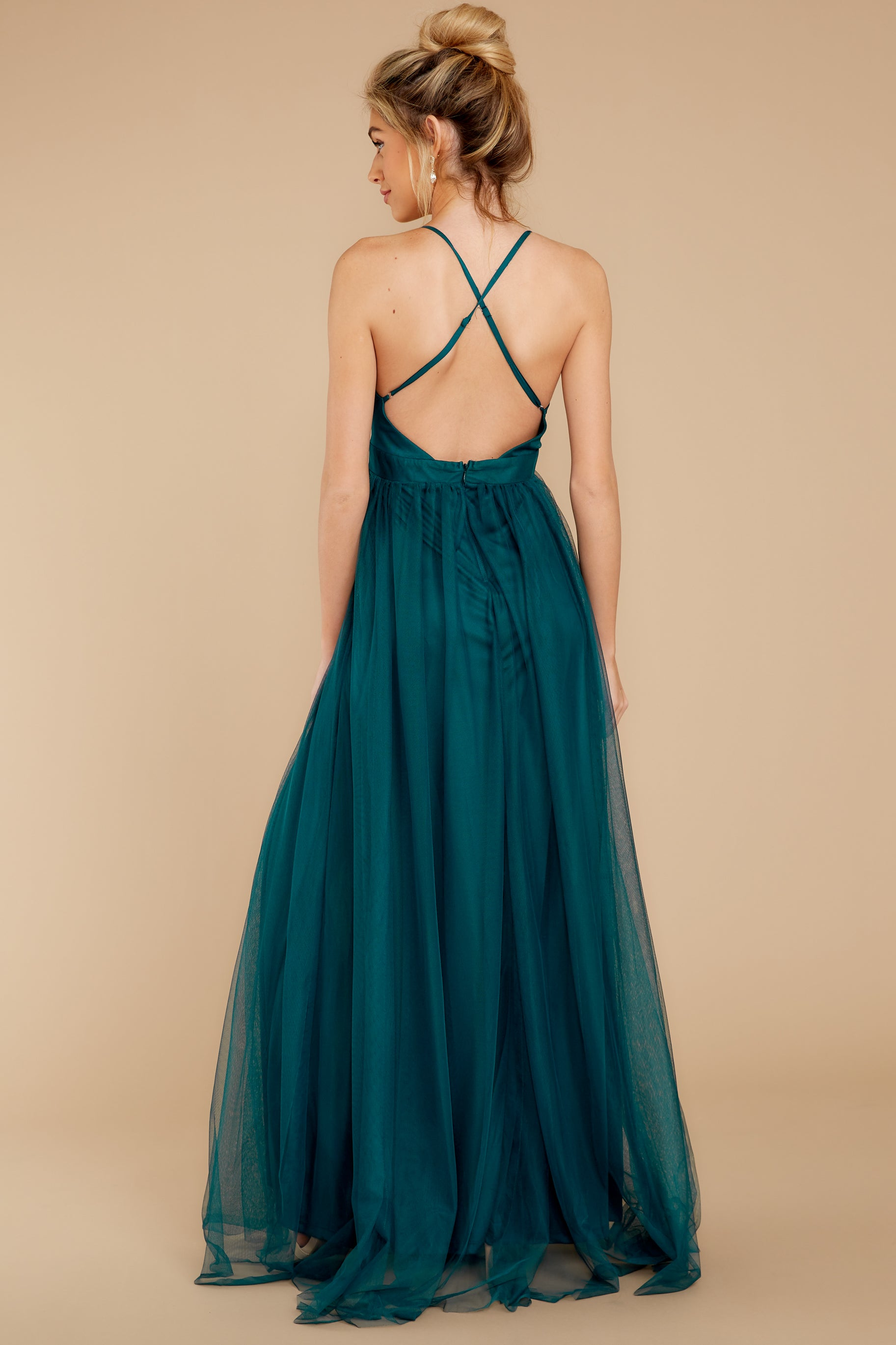 9 Matters Of The Heart Teal Maxi Dress at reddressboutique.com