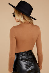 8 Covering The Basics Tan Bodysuit at reddress.com