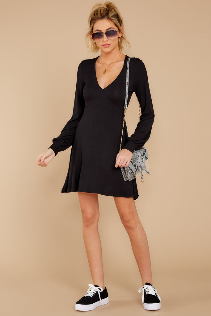 3 The Washed Black Meridian Dress at reddress.com