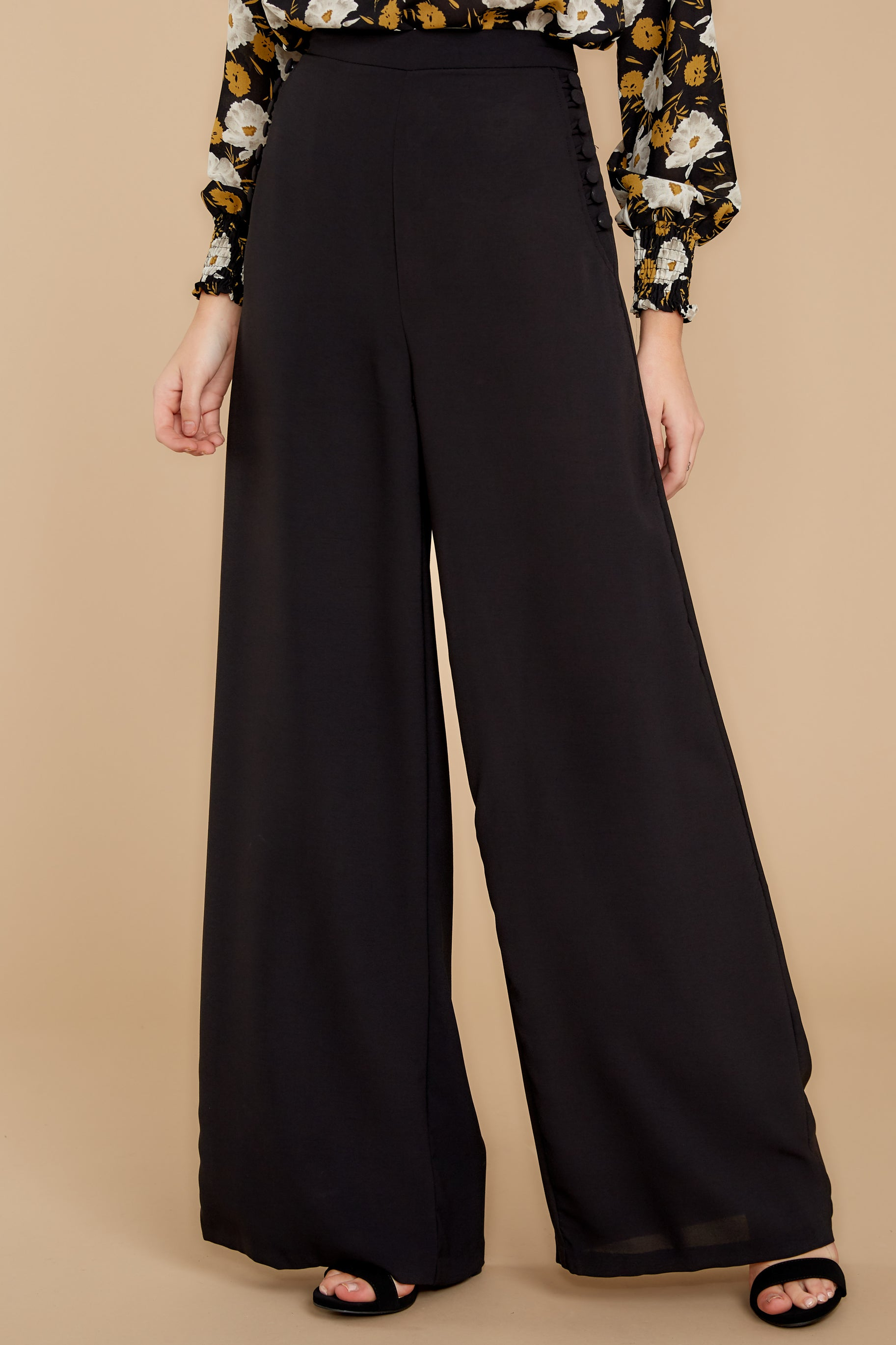 Did Women Wear Pants in the 1920s? Yes! sort of… Chic Street Black Pants $48.00 AT vintagedancer.com