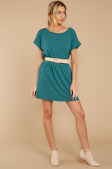 3 Anywhere She Goes Jade Green Dress at reddress.com