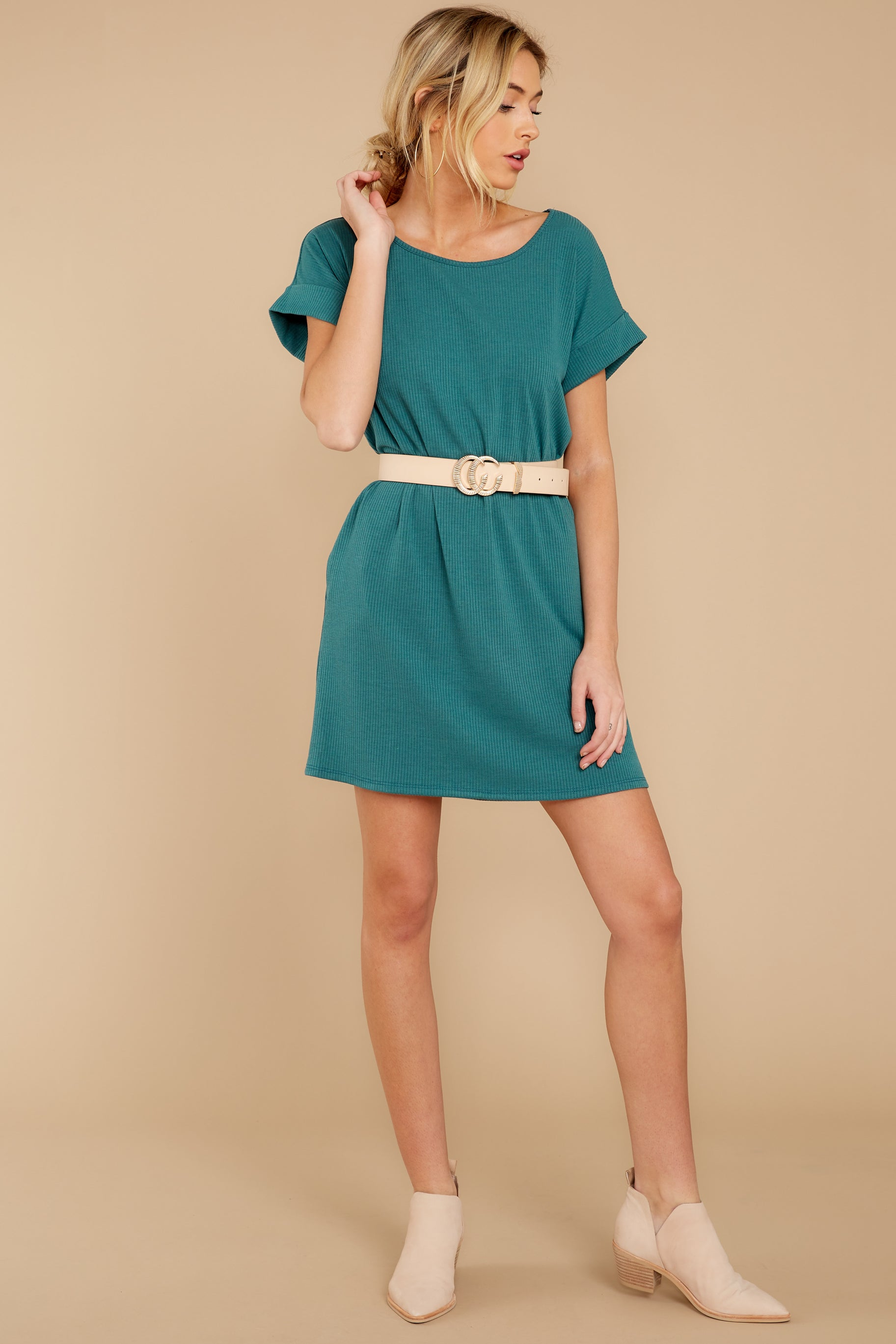 2 Anywhere She Goes Jade Green Dress at reddress.com