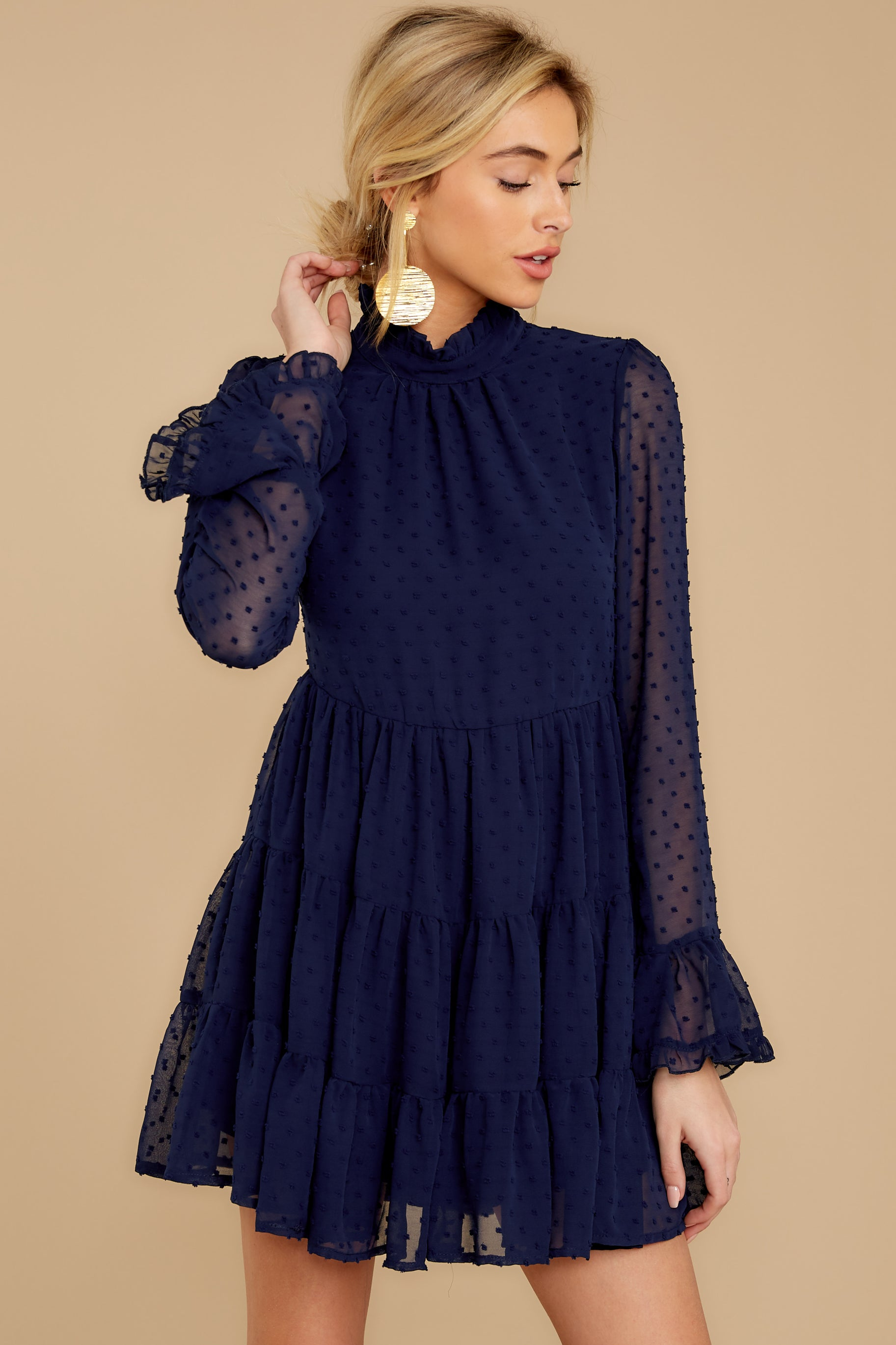Remember The Romance Navy Dress