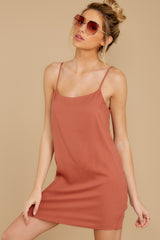 3 Think Of Me Light Salmon Dress at reddress.com