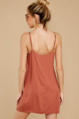 5 Think Of Me Light Salmon Dress at reddress.com