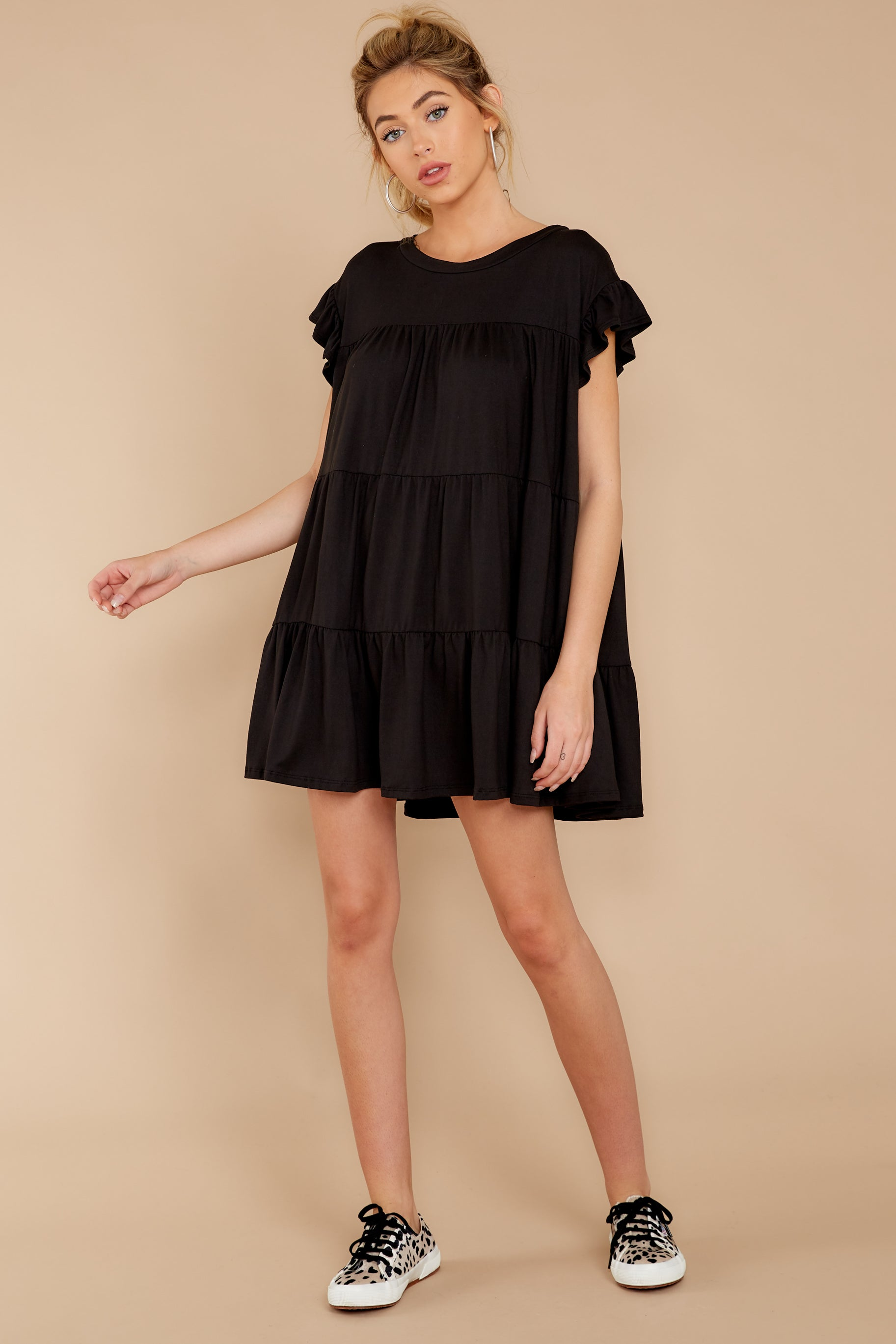 1 Sweet Persuasion Black Dress at reddressboutique.com
