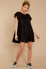 3 Sweet Persuasion Black Dress at reddressboutique.com