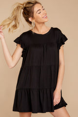 5 Sweet Persuasion Black Dress at reddressboutique.com
