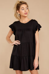 6 Sweet Persuasion Black Dress at reddressboutique.com