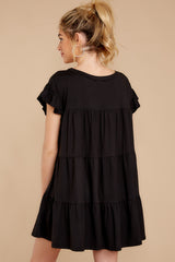 8 Sweet Persuasion Black Dress at reddressboutique.com