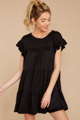 4 Sweet Persuasion Black Dress at reddressboutique.com
