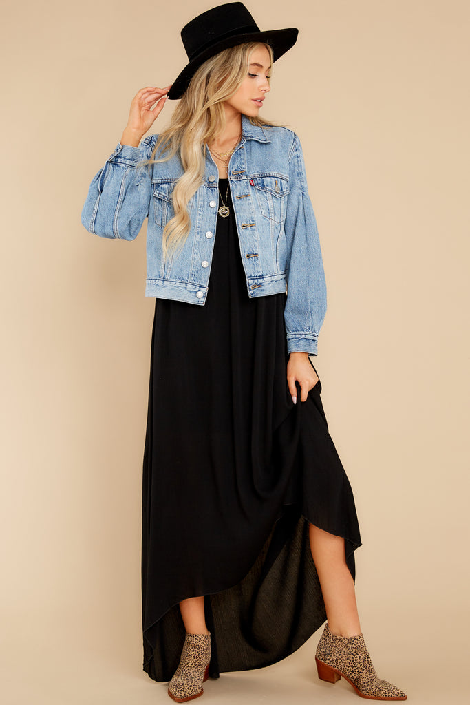 1 Full Sleeve Trucker Jacket in All Mine at reddress.com