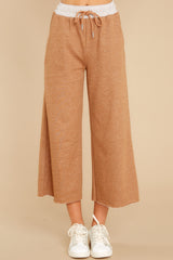 3 Coming Home Mocha Pants at reddress.com