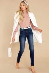 4 Waiting On Forever Mauve Blush Sweater at reddress.com