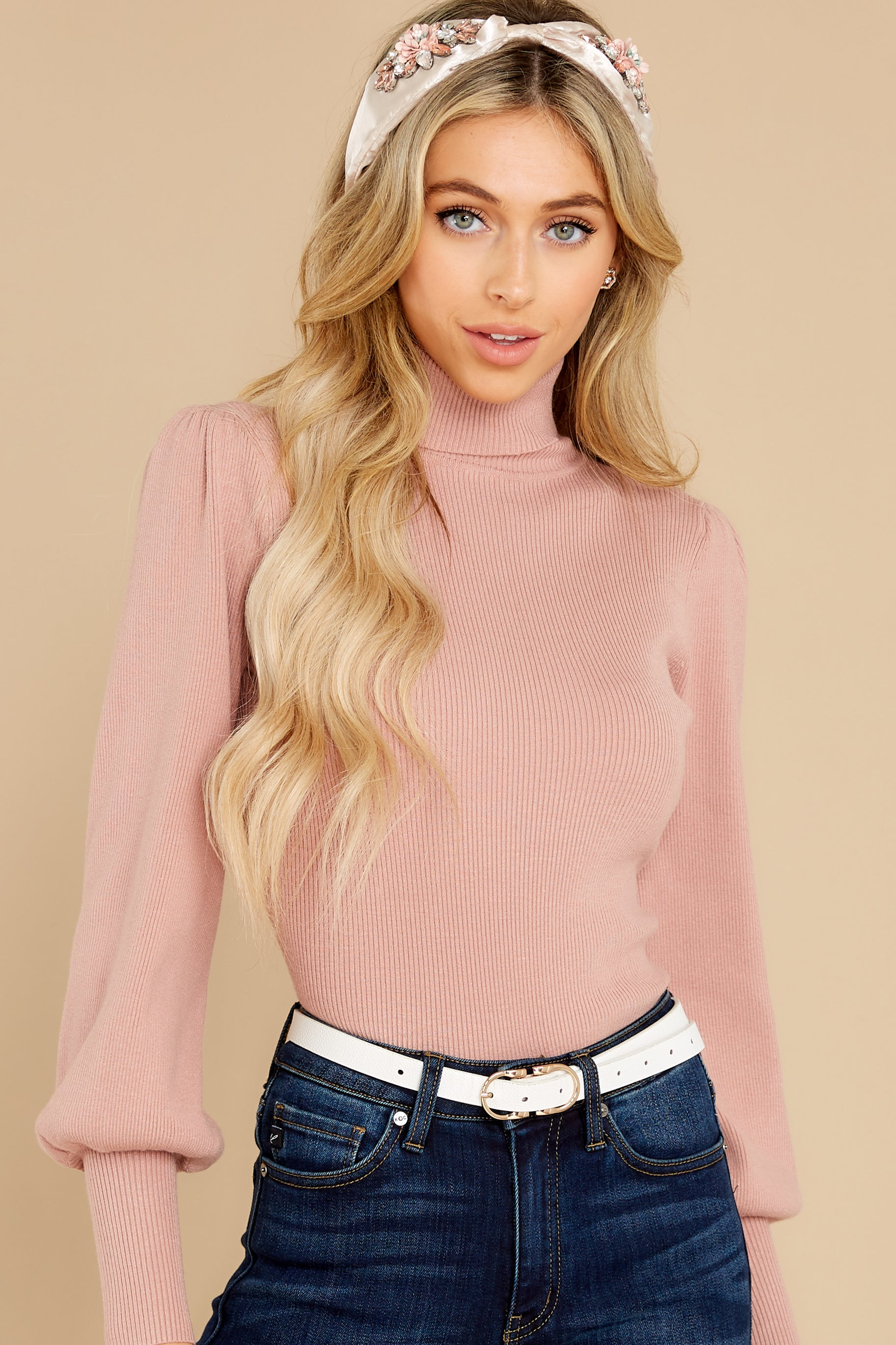 5 Waiting On Forever Mauve Blush Sweater at reddress.com