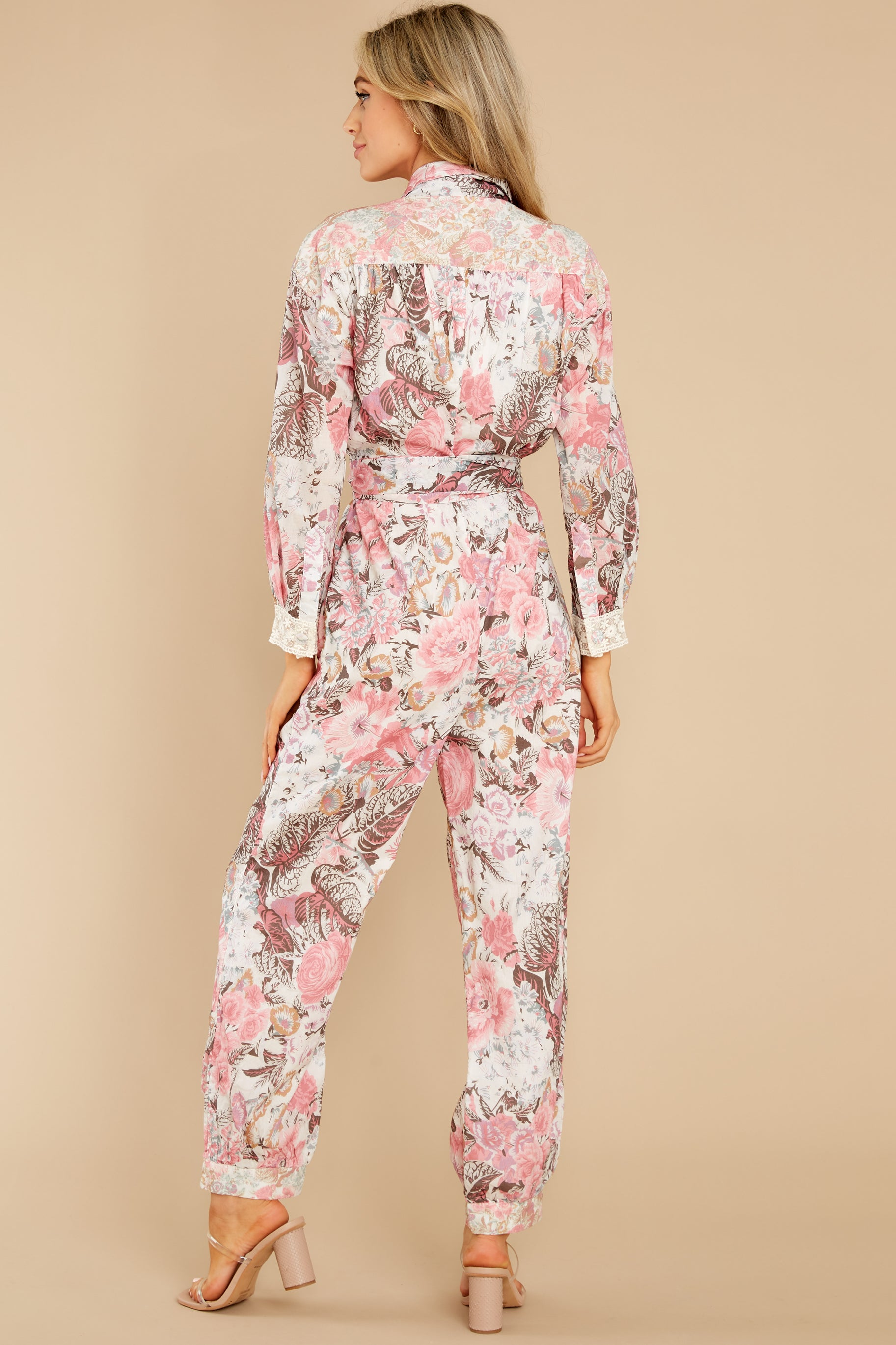 6 Morellia Dew Drops Corduroy Jumpsuit at reddress.com
