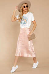 4 Graceful Sway Light Pink Midi Skirt at reddressboutique.com