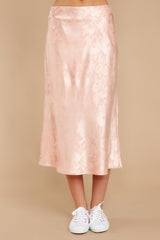 2 Graceful Sway Light Pink Midi Skirt at reddressboutique.com