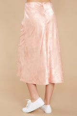 3 Graceful Sway Light Pink Midi Skirt at reddressboutique.com