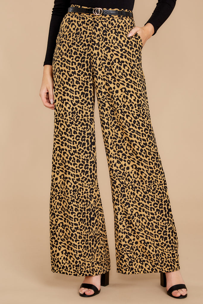 1 Chic Street Clay Pants at reddressboutique.com