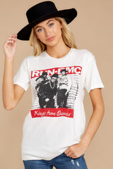6 Run-DMC Kings From Queens Weekend White Tee at reddress.com